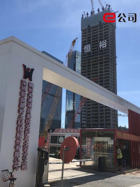 腾创未来项目,紧邻恒裕深圳湾。