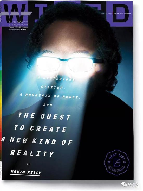 《连线》2016年5月刊,封面文章The Quest to Create A New Kind of Reality,由凯文·凯利执笔