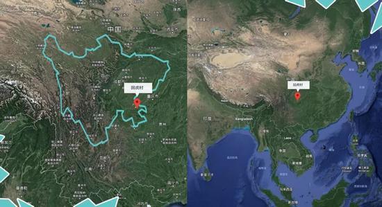 回虎村所在地理区位位置 制图/切切