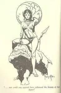 ▲《火星公主》插图