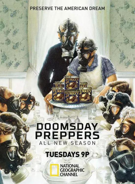 《末日准备者》(Doomsday Preppers)海报