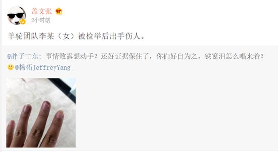 杨柘回应魅族内讧:团队成员出手伤人为造谣臭鼬有多臭