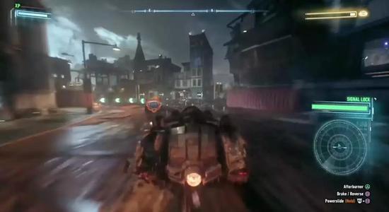 相对而言,《蝙蝠侠:阿卡姆城》中这种依靠HUD和空气墙来规划追击路线的玩法,很容易让玩家出戏