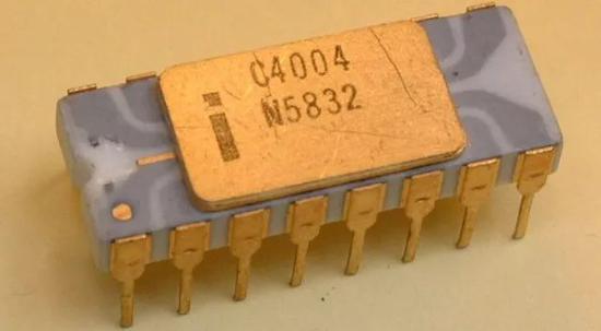 Intel第一个CPU,已有40多年历史