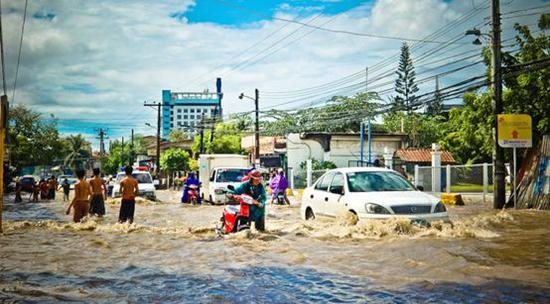 地球自转停止会引起洪水