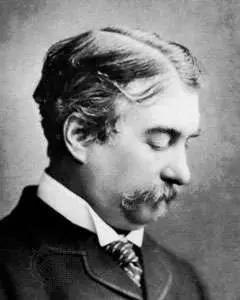 英國科學家Sir Joseph Norman Lockyer(1836-1920),當時公認的太陽光譜專家,也是He的命名者 (圖片來源:大英百科)