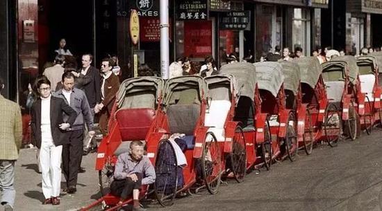 街头景象,香港,1972年