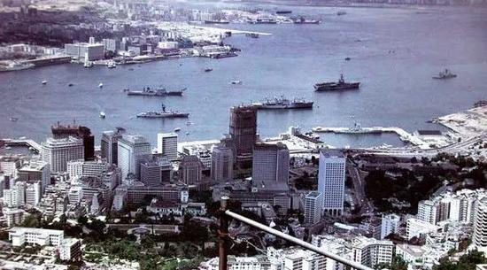 维港俯瞰,香港,1972年