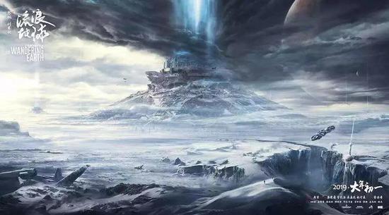 2019年賀歲檔影片《流浪地球》中人類面臨太陽氦閃