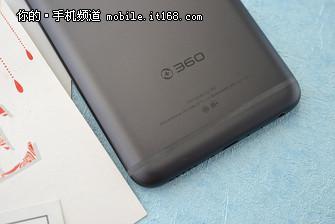 ▲360手机N7外观细节