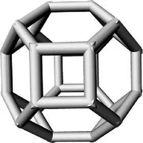 纳米金刚石尺寸微小、拥有规则的碳原子结构。该图展示了原子级别的纳米金刚石膜性。由于它多表面的结构可与多种分子相连,因此这些纳米颗粒常用于药物治疗。如今,它作为牙齿填充物也很受欢迎。 AmericanChemical Society/Dean Ho Group