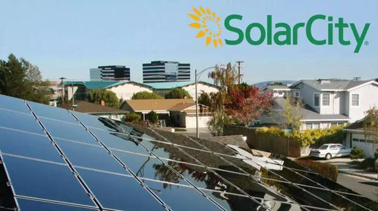 (Solarcity安裝的太陽能面板,圖片來自網絡)