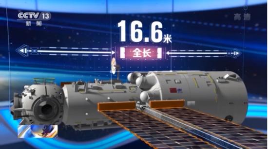 中国空间站到底长啥样?三室两厅还带储藏间