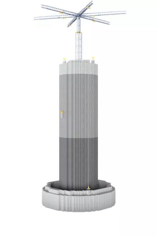 图|Energy Vault的概念(来源:Energy Vault)