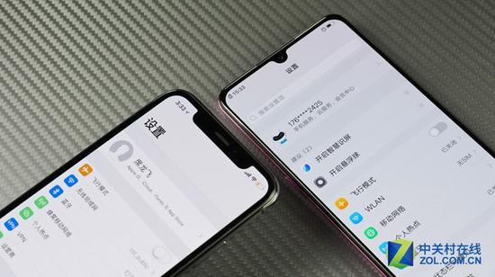 iPhone X和vivo X23