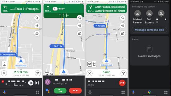 谷歌助手驾驶模式在多机型落地 功能实装待后续更新