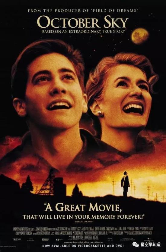 《十月的天空》电影海报来源:豆瓣