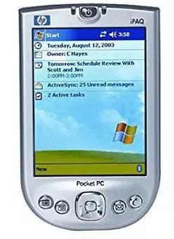 HTC当时兢兢业业地做着WindowsCE产品,得到了微软的赏识。