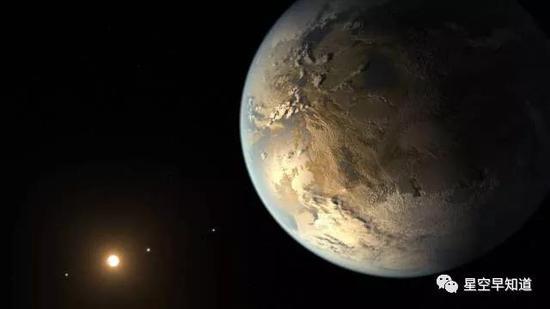 系外行星Kepler-186f 示意图 来源:NASA