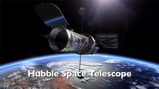 哈勃空间望远镜的假想图。来源:NASA