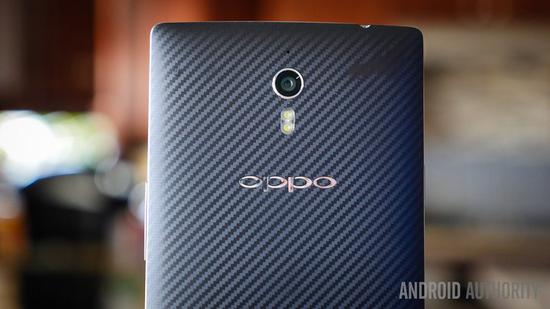 ▲ OPPO Find 7. 图片来自:Android Authority