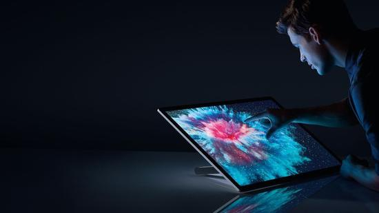 28英寸Surface Studio(图源:microsoft)