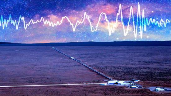 图 |LIGO与引力波(图片来源:MIT TECHNOLOGY REVIEW)