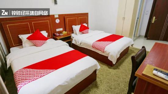 OYO加盟♀酒店客房 图片来源于OYO官方App