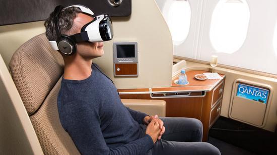 VR上天 英国航空公司让头等舱乘客体验虚拟现实