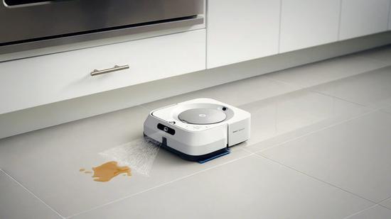 每周拖三次地太累?iRobot发布擦