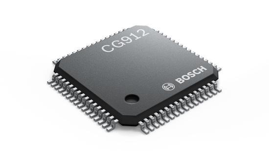 CG912 芯片负责监测车辆碰撞,以及切断电源 | 博世