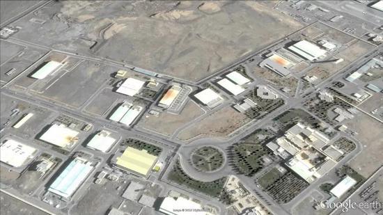 伊朗Natanz的核设施