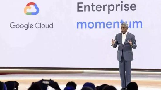 (谷歌云服务CEO Thomas Kurian,曾是原Oracle的研发总裁)
