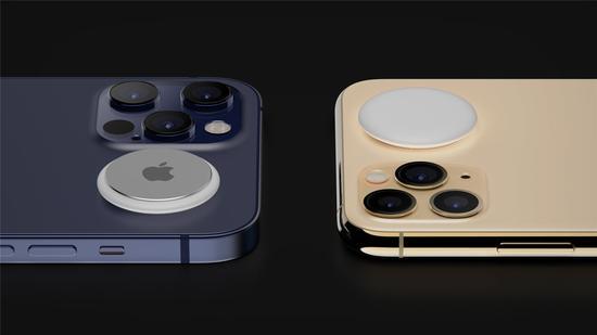 苹果iPhone 12 Pro海军蓝/AirTags渲染图再曝光