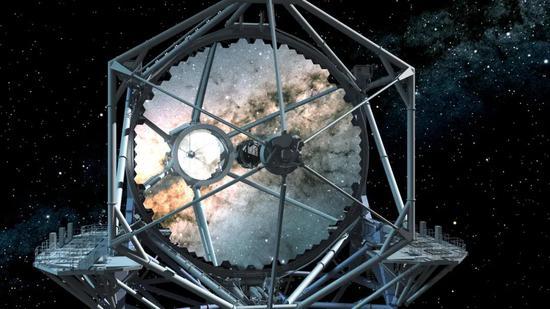 30米望远镜主镜艺术图丨图源:tmt.org