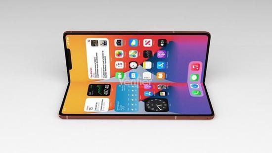 消息称苹果正开发折叠iPhone,要求供应链送样测试