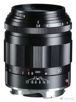 福伦达APO-SKOPAR 90mm f/2.8 VM镜头将发布
