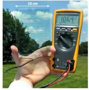透明有机太阳能电池。图片来源:参考文献[5]