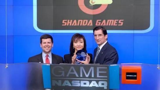 图:2009年,盛大游戏在美上市