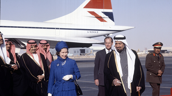 (伊丽莎白二世女王一直是协和客机的常客。 图源:flightglobal)