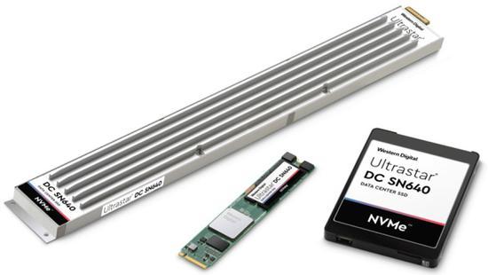 <b>西数发布大刀形SSD:最大容量30.72TB</b>