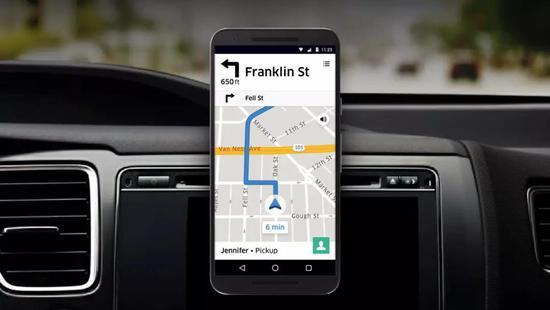Uber的诞生与谷歌地图服务密不可分