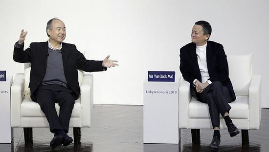 孙正义对话马云:我还没有取得任何成就 仍是挑战者