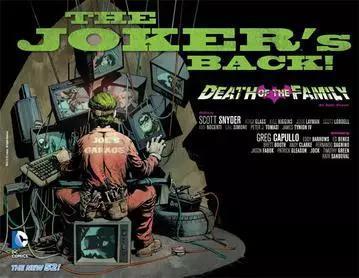 (DC漫画2012年重启了小丑的故事,小丑一直保持着很高的人气。)