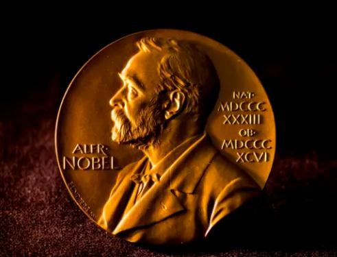 資料圖:諾貝爾獎牌。圖片來源:諾貝爾獎官網。
