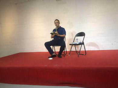 胡景晖在8月19日举办个人媒体沟通会