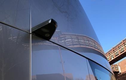 特斯拉Semi电动卡车细节(图片来自Tony Knoblauch)