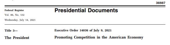 拜登签发最新总统令:对硅谷科技巨头重拳出击,和用户息息相关