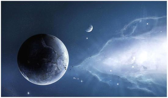 白矮星(想象图)