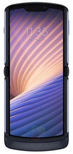 摩托罗拉Razr 5G折叠手机信息全曝光